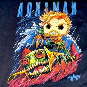 Men's funko pop aquaman short sleeve t